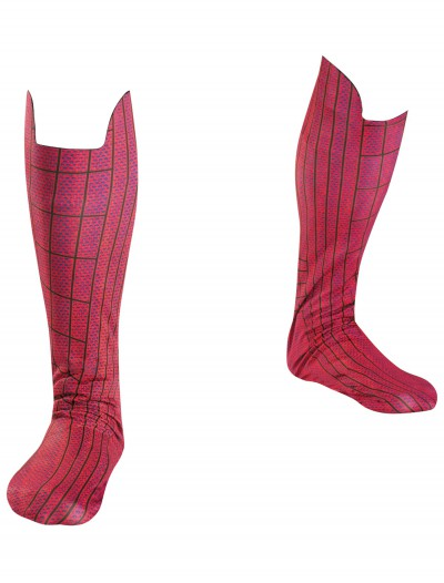 Adult Spiderman Movie Boot Covers, halloween costume (Adult Spiderman Movie Boot Covers)