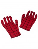 Adult Spiderman Short Gloves, halloween costume (Adult Spiderman Short Gloves)