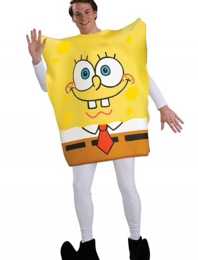 Adult SpongeBob SquarePants Costume, halloween costume (Adult SpongeBob SquarePants Costume)
