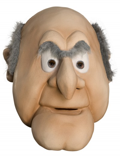 Adult Statler Mask, halloween costume (Adult Statler Mask)