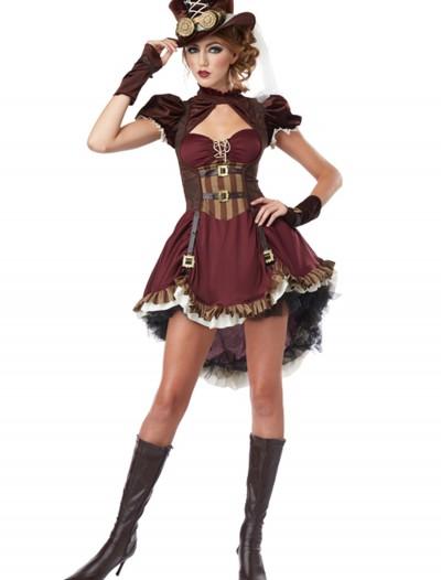 Adult Steampunk Lady Costume, halloween costume (Adult Steampunk Lady Costume)