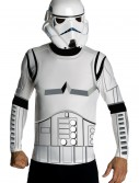 Adult Stormtrooper Top and Mask, halloween costume (Adult Stormtrooper Top and Mask)