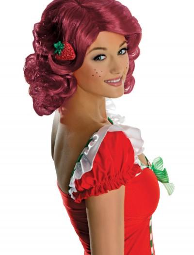 Adult Strawberry Shortcake Wig, halloween costume (Adult Strawberry Shortcake Wig)