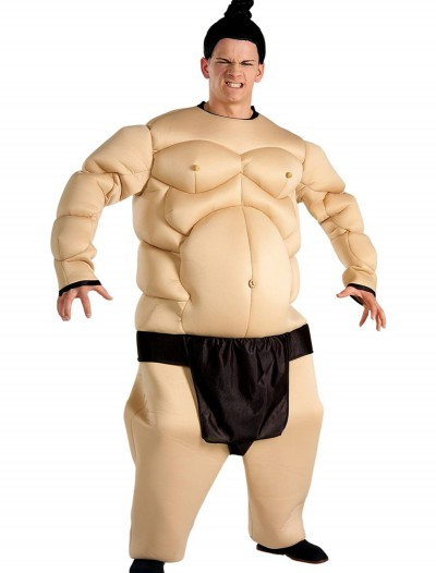 Adult Sumo Wrestler Costume, halloween costume (Adult Sumo Wrestler Costume)