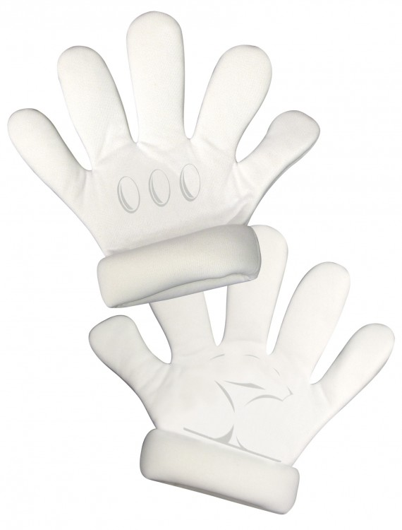Adult Super Mario Gloves, halloween costume (Adult Super Mario Gloves)