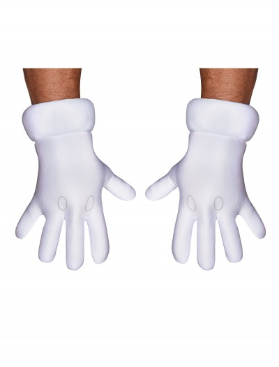 Adult Super Mario Hands, halloween costume (Adult Super Mario Hands)