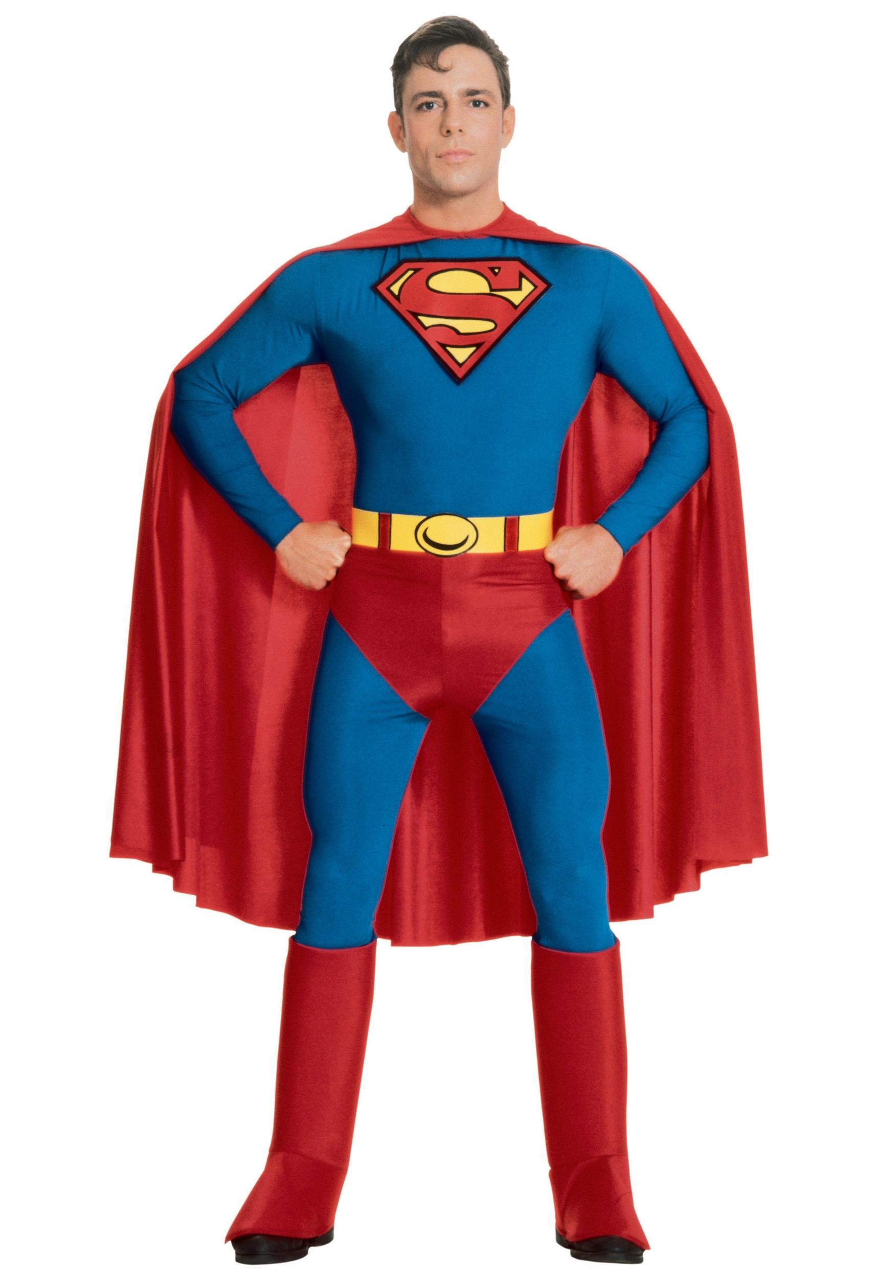 Adult Superman Costume  sc 1 st  Halloween Costumes & Adult Superman Costume - Halloween Costumes