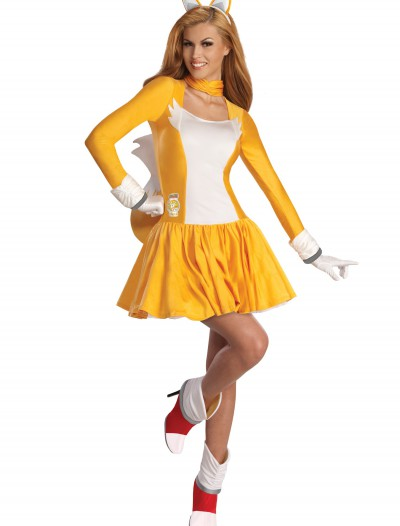Adult Tails Dress Costume, halloween costume (Adult Tails Dress Costume)
