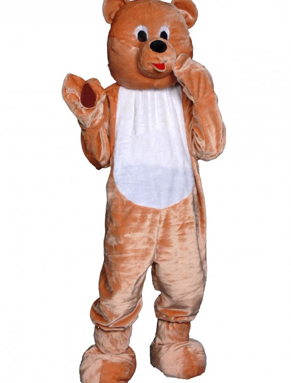 Adult Teddy Bear Mascot Costume, halloween costume (Adult Teddy Bear Mascot Costume)