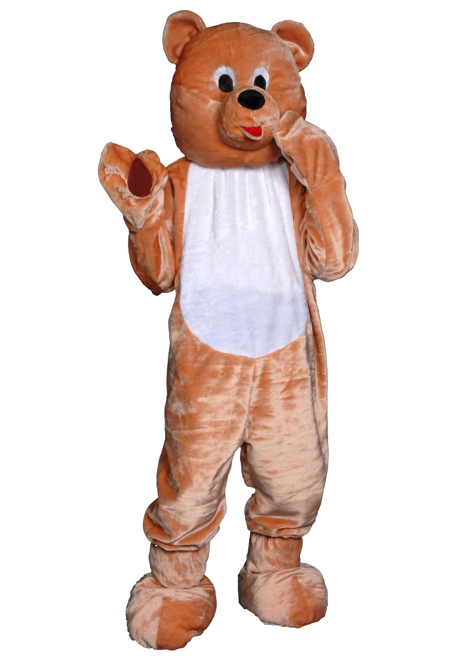 Adult Teddy Bear Mascot Costume  sc 1 st  Halloween Costumes & Adult Teddy Bear Mascot Costume - Halloween Costumes