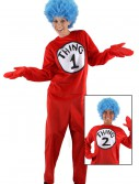 Adult Thing 1 and 2 Costume, halloween costume (Adult Thing 1 and 2 Costume)