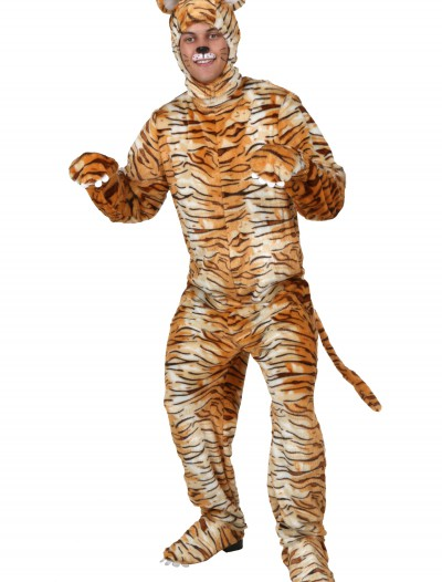 Adult Tiger Costume, halloween costume (Adult Tiger Costume)
