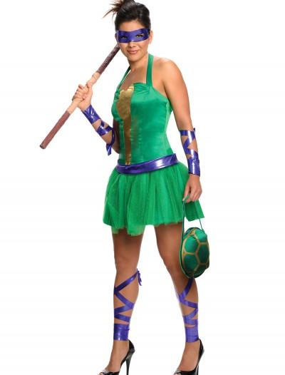 Adult TMNT Donatello Dress, halloween costume (Adult TMNT Donatello Dress)