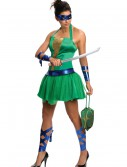 Adult TMNT Leonardo Dress, halloween costume (Adult TMNT Leonardo Dress)