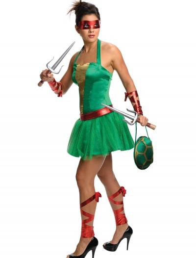 Adult TMNT Raphael Dress, halloween costume (Adult TMNT Raphael Dress)