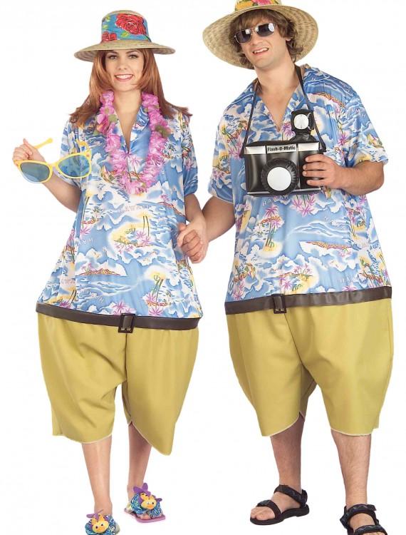 Adult Tropical Tourist Costume, halloween costume (Adult Tropical Tourist Costume)