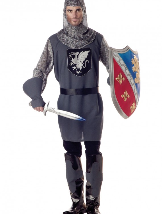 Adult Valiant Knight Costume, halloween costume (Adult Valiant Knight Costume)