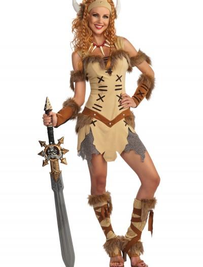 Adult Viking Princess Costume, halloween costume (Adult Viking Princess Costume)