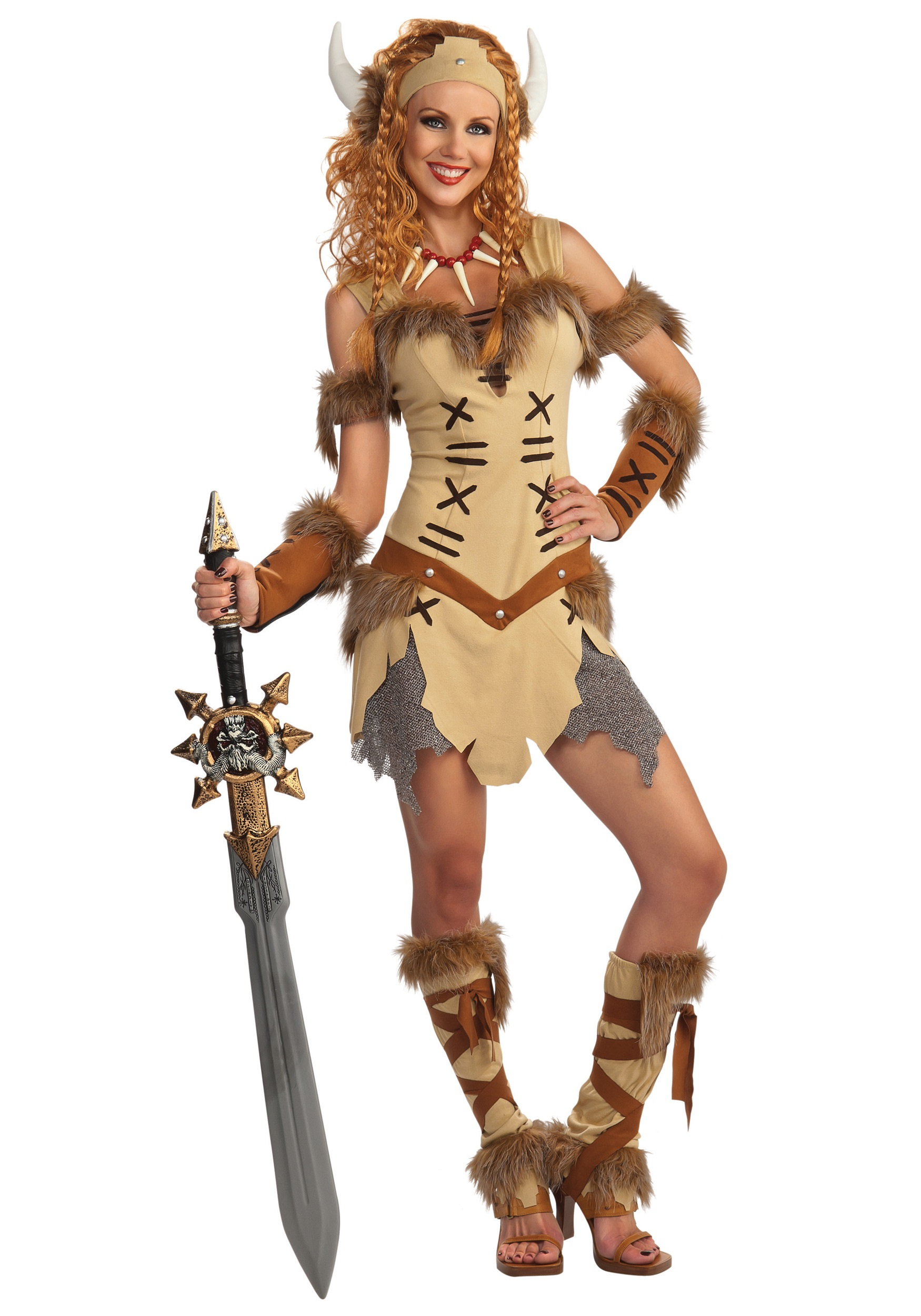 Adult Viking Princess Costume  sc 1 st  Halloween Costumes & Adult Viking Princess Costume - Halloween Costumes