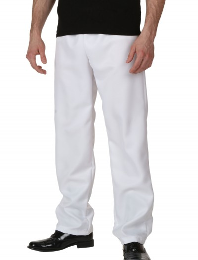 Adult White Pants, halloween costume (Adult White Pants)