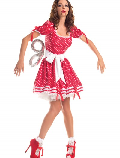 Adult Wind Up Doll Costume, halloween costume (Adult Wind Up Doll Costume)