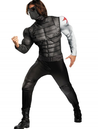 Adult Winter Soldier Classic Muscle Costume, halloween costume (Adult Winter Soldier Classic Muscle Costume)