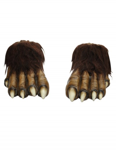 Adult Wolf Feet, halloween costume (Adult Wolf Feet)