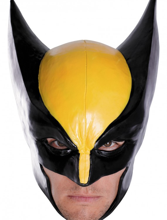 Adult Wolverine Deluxe Mask, halloween costume (Adult Wolverine Deluxe Mask)