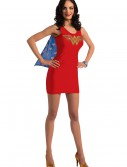 Adult Wonder Woman Tank Dress w/ Rhinestones, halloween costume (Adult Wonder Woman Tank Dress w/ Rhinestones)