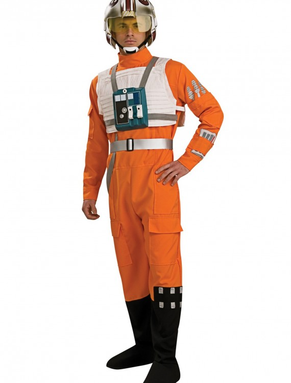 Adult X-Wing Pilot Costume, halloween costume (Adult X-Wing Pilot Costume)
