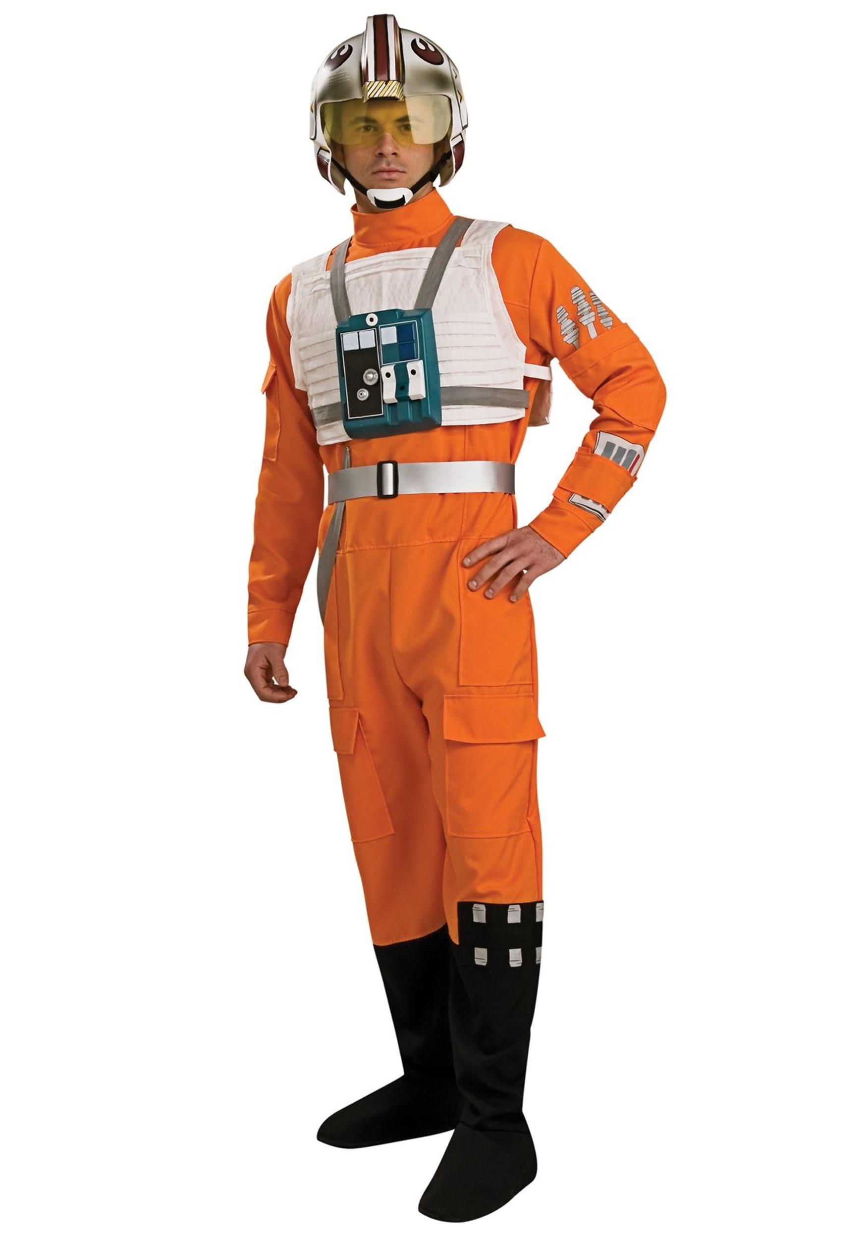 Adult X-Wing Pilot Costume  sc 1 st  Halloween Costumes & Adult X-Wing Pilot Costume - Halloween Costumes
