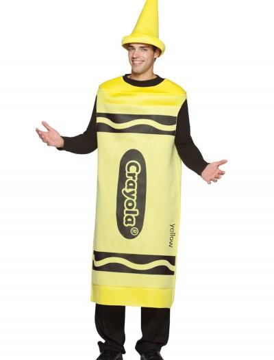 Adult Yellow Crayon Costume, halloween costume (Adult Yellow Crayon Costume)