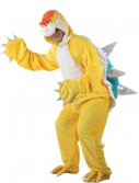 Adult Yellow Dinosaur w/ Green Shell Costume, halloween costume (Adult Yellow Dinosaur w/ Green Shell Costume)