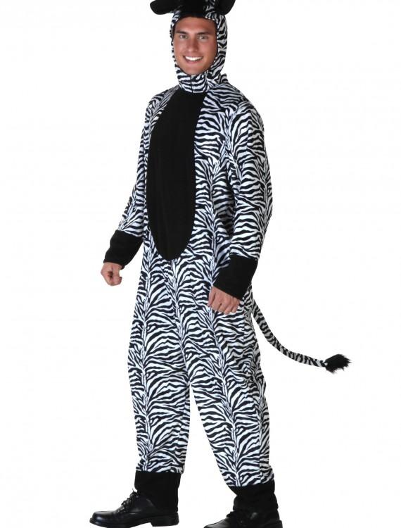 Adult Zebra Costume, halloween costume (Adult Zebra Costume)