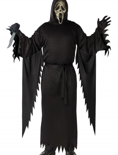 Adult Zombie Ghost Face Costume, halloween costume (Adult Zombie Ghost Face Costume)