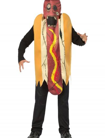 Adult Zombie Hot Dog Costume, halloween costume (Adult Zombie Hot Dog Costume)