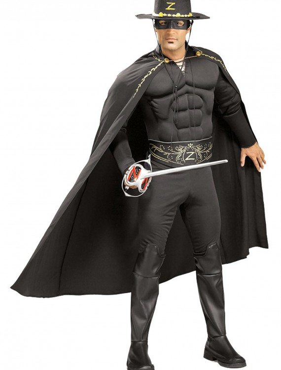 Adult Zorro Costume, halloween costume (Adult Zorro Costume)