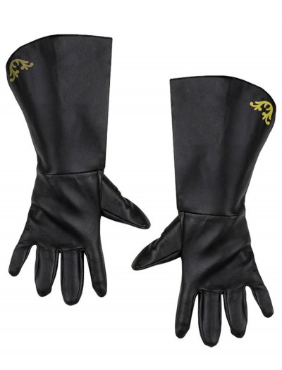Adult Zorro Gloves, halloween costume (Adult Zorro Gloves)