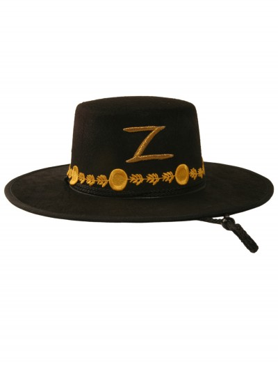 Adult Zorro Hat, halloween costume (Adult Zorro Hat)