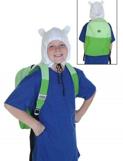Adventure Time Finn Hooded Backpack, halloween costume (Adventure Time Finn Hooded Backpack)