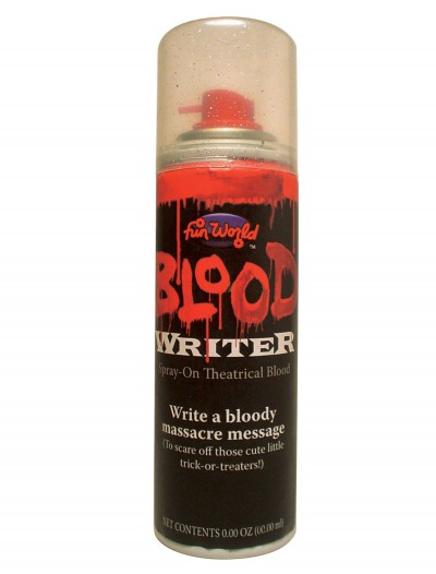 Aerosol Blood Writer, halloween costume (Aerosol Blood Writer)