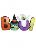 Airblown Boo Sign w/ Witch and Ghost, halloween costume (Airblown Boo Sign w/ Witch and Ghost)