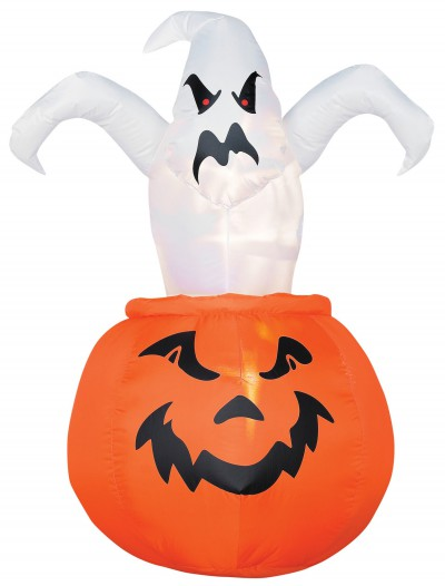Airblown Outdoor Ghost out of Pumpkin, halloween costume (Airblown Outdoor Ghost out of Pumpkin)