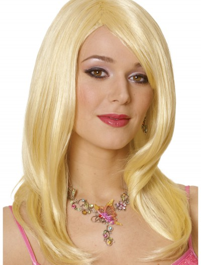 Alice Blonde Adult Wig, halloween costume (Alice Blonde Adult Wig)