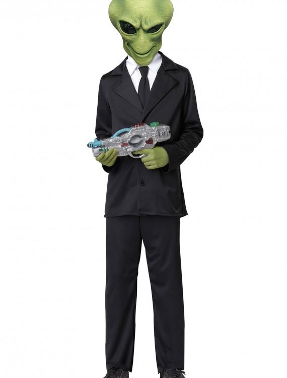 Alien Agent Costume, halloween costume (Alien Agent Costume)