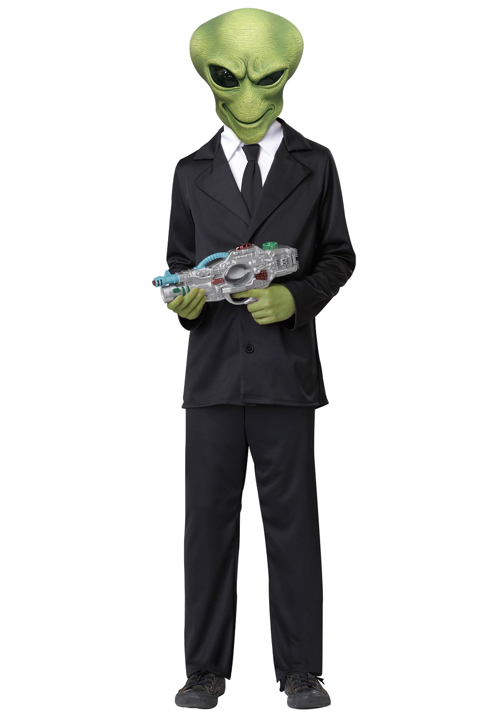 Alien Agent Costume  sc 1 st  Halloween Costumes & Alien Agent Costume - Halloween Costumes