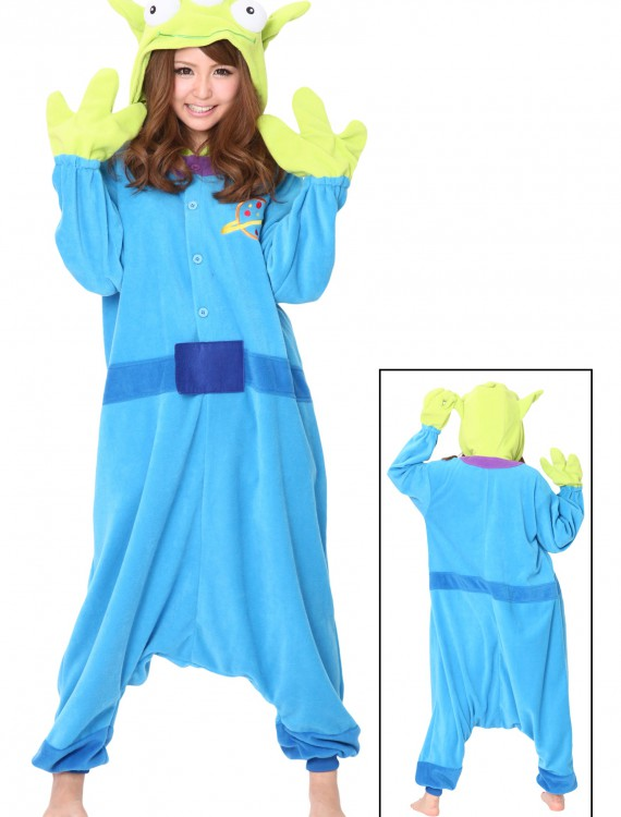 Alien Pajama Costume, halloween costume (Alien Pajama Costume)