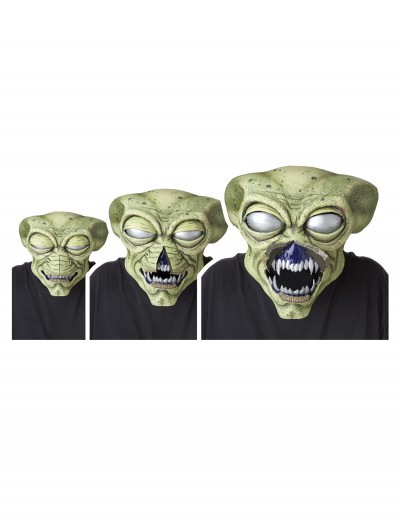 Alien Visitor Ani-Motion Mask, halloween costume (Alien Visitor Ani-Motion Mask)