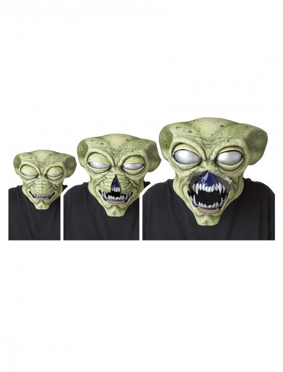 Alien Visitor Ani-Motion Mask, halloween costume (Alien Visitor Ani-Motion Mask)