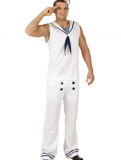 All Hands on Deck White Costume, halloween costume (All Hands on Deck White Costume)
